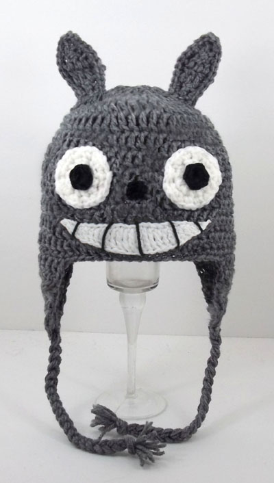 My Neighbor Totoro Earflap Hat with Smile